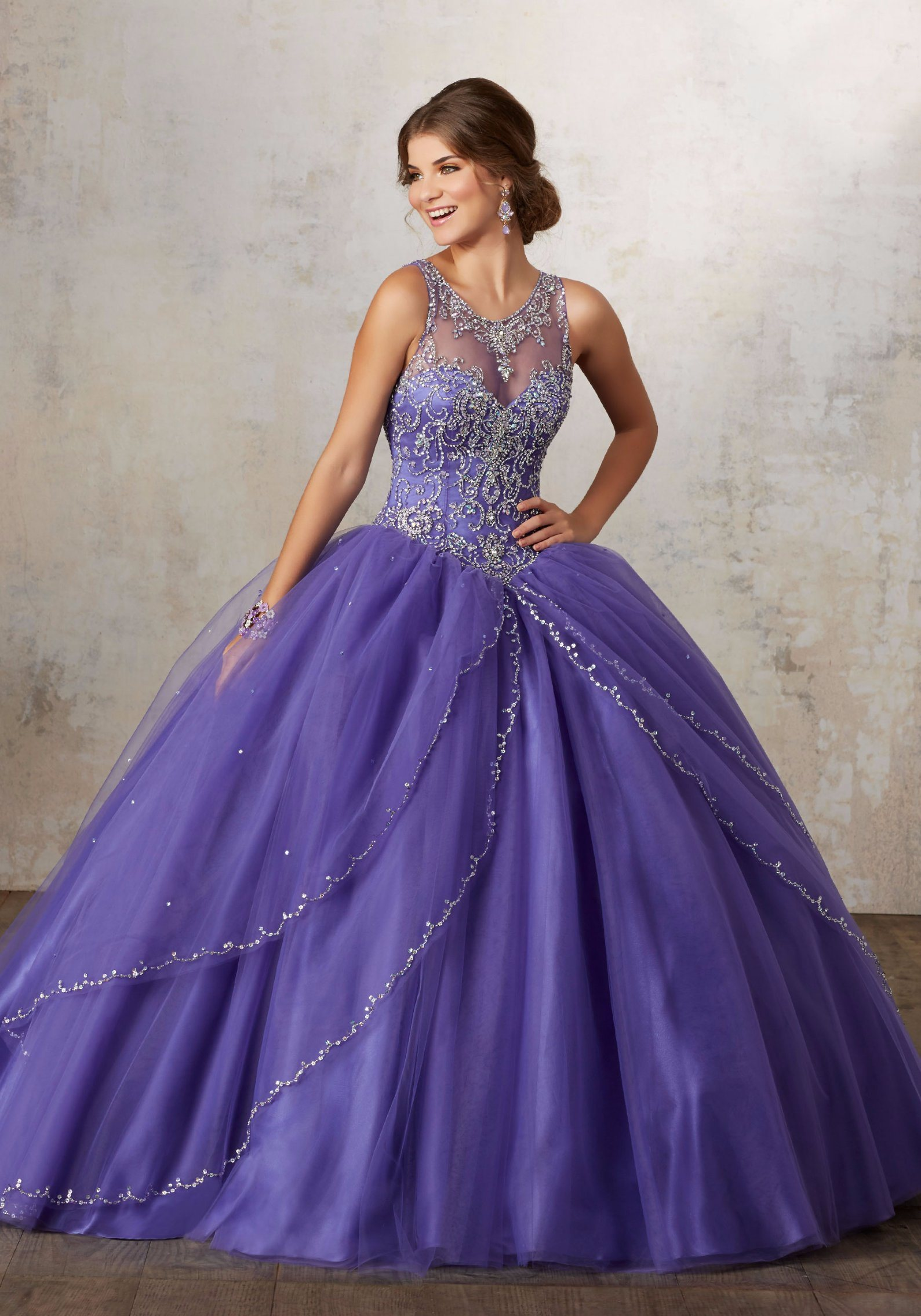 Quinceanera Dresses Blue And Purple