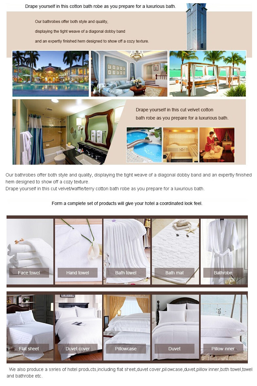 100% Cotton Waffle Hotel Bathrobe (DPH7023)