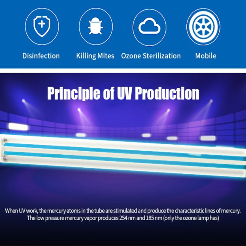 Portable Wholesale Uv Light Sterilizer Lamp Germicidal Lamp Disinfection Lamp China Sanitizer Uv Germicidal Lamp Uv Sterilizer Made In China Com