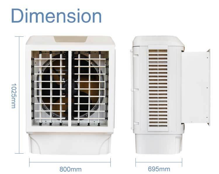Evaporative Cooling Multi Sycle : Ventilateur de brumisation par évaporation l eau