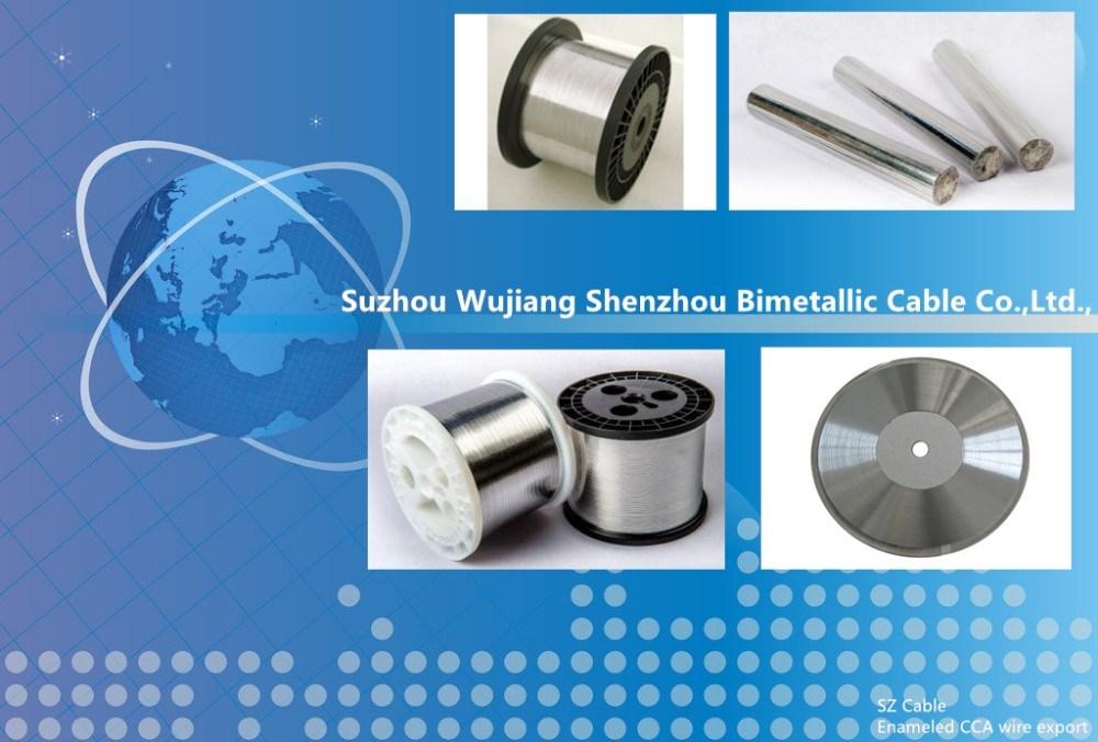 Factory Price Leading Quality Enameled Copper Coated Clad Aluminium ...