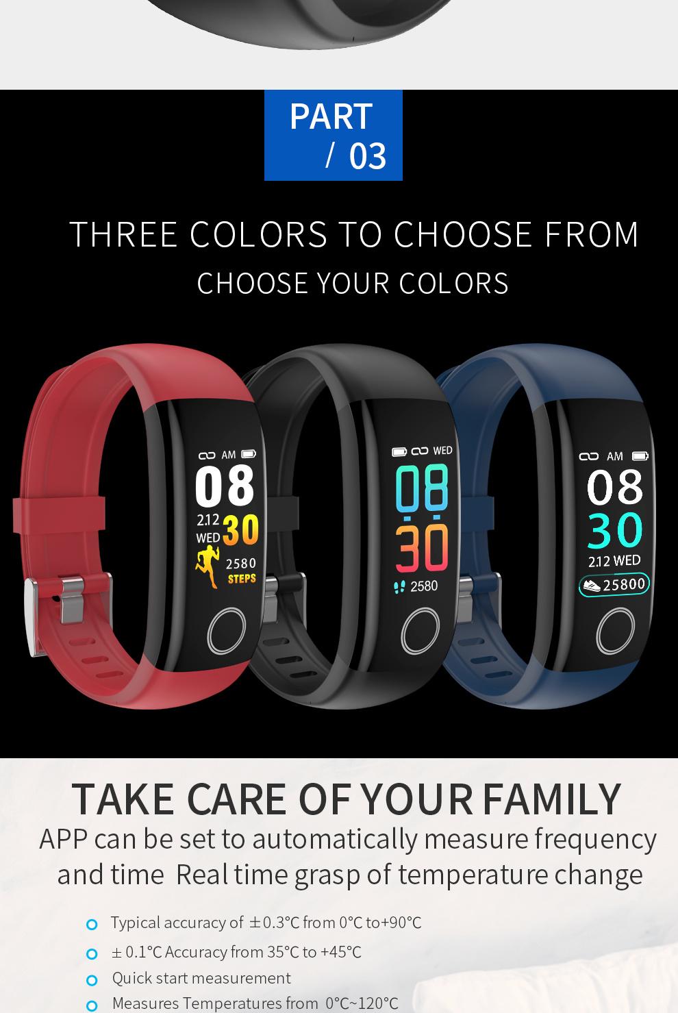 Multi Languages Multi Functions and Multi Modes Smart Bracelet