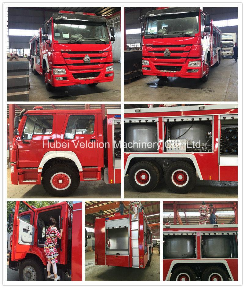 Isuzu 4X2 Fire Fighting Trucks with 8, 000 Litres Water Tank