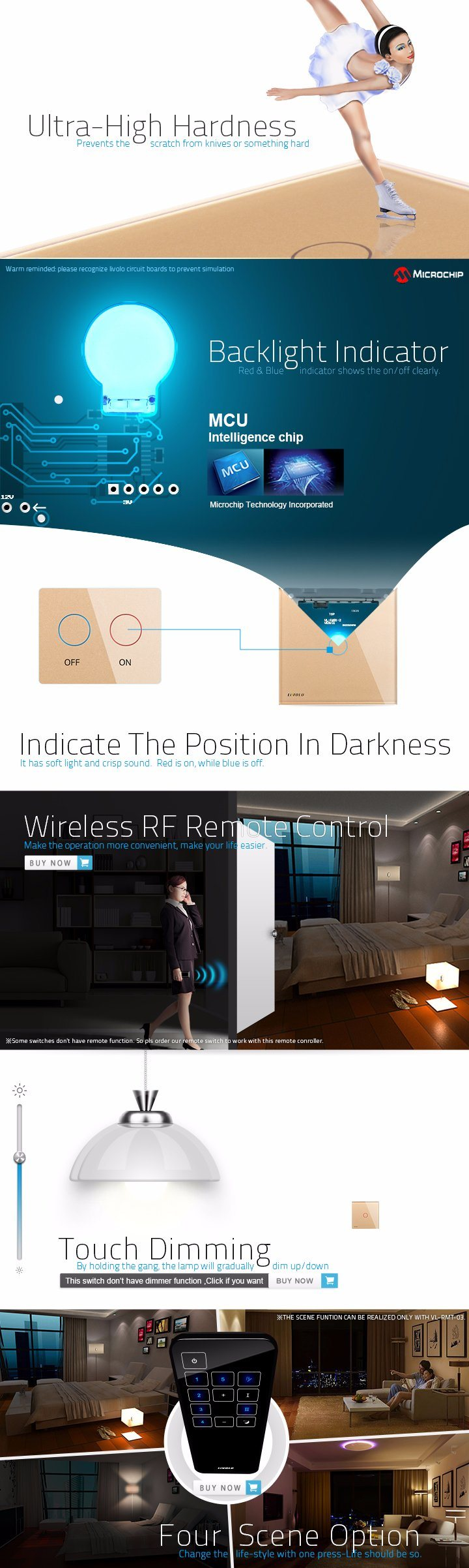 New Livolo Two Way Wall Light Switch Vl C301s 63 China With Indicator Faq