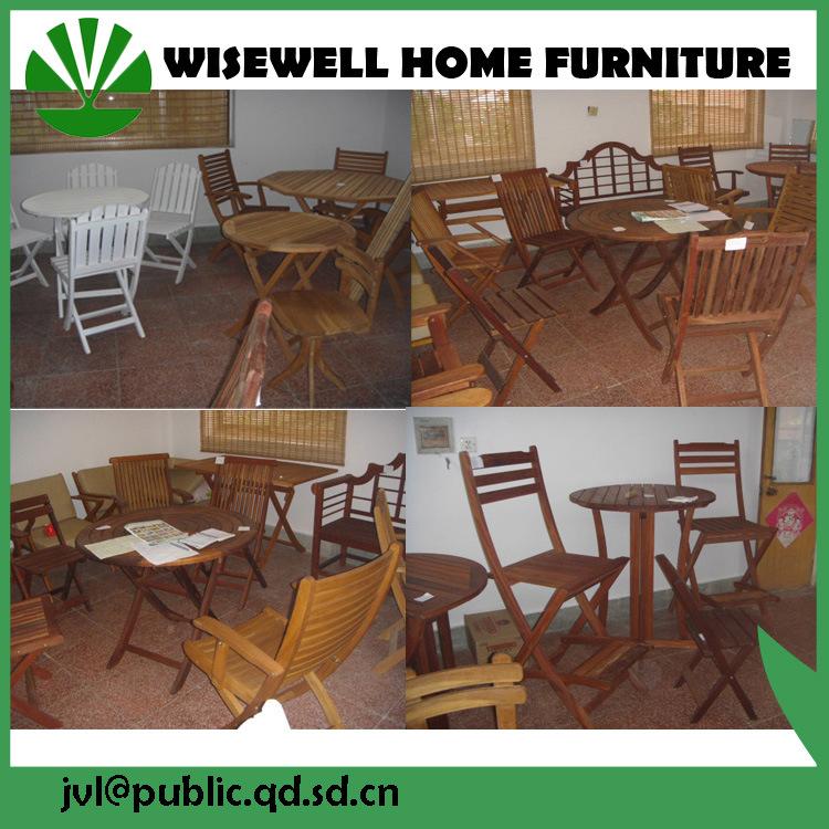 Tipo de madera muebles de exterior con paraguas plegable – Tipo de ...