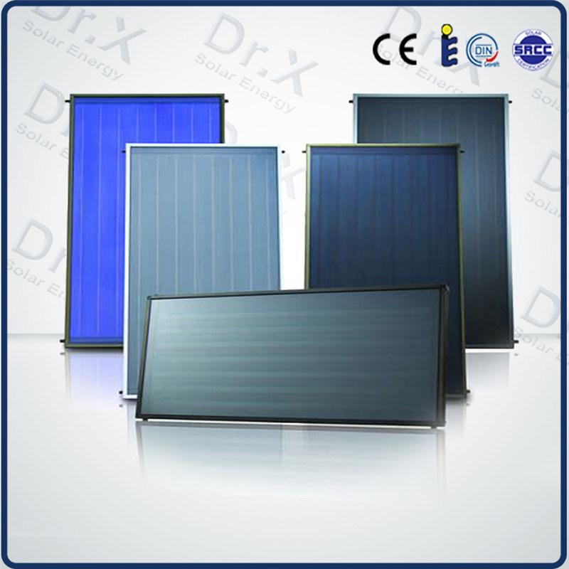 Plaque de collecteur solaire plat avec le titane for Plaques solars termiques