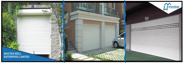 Portelli automatici del garage di canvas del portello di for Laboratorio di garage domestico