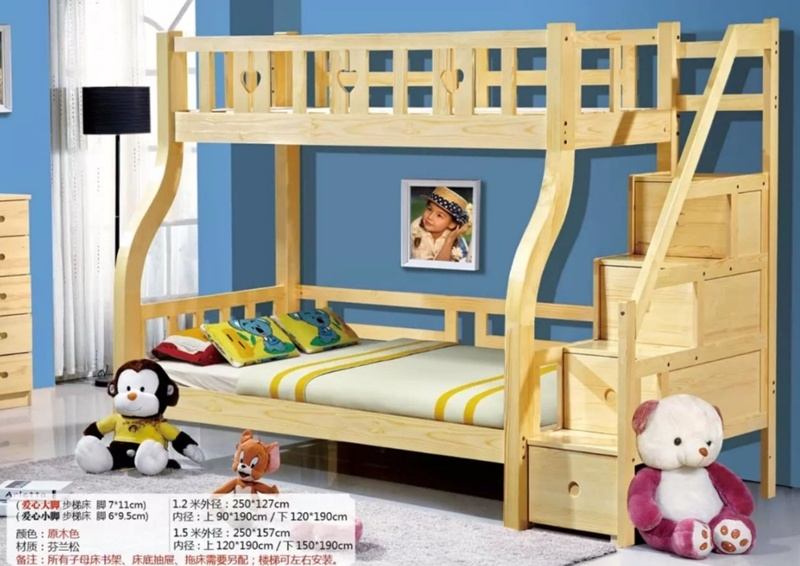 Children Wood Bunk Bed For Kindergarton Cheap Nursery Bedroom Beds Furniture For Sale China Kids Bed Kids Bunk Bed Made In China Com