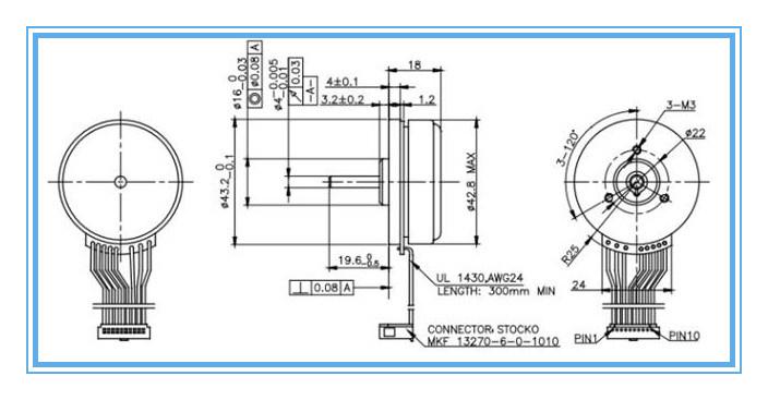 Rotor exterior 12v 24v bldc micro brushless motor dc for 12v bldc motor specifications