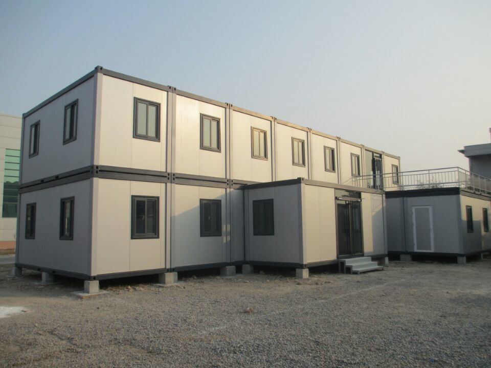 Container House is designed and developed according to the standard size of shipping container. Transportation is designed in accordance with a standard ISO ... & Fabricated Light Design Container House Luxury Home Portable Modular ...