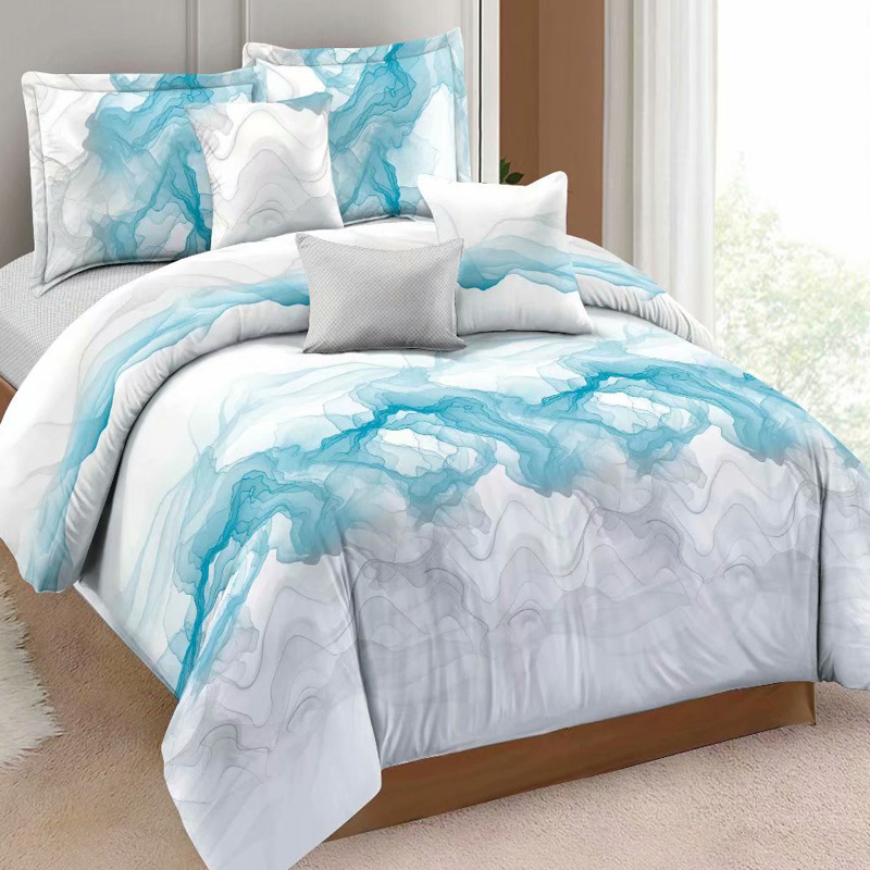 Cotton White Bedding Quilt Bed Cover, 100 Cotton Queen Bed Sheet Set
