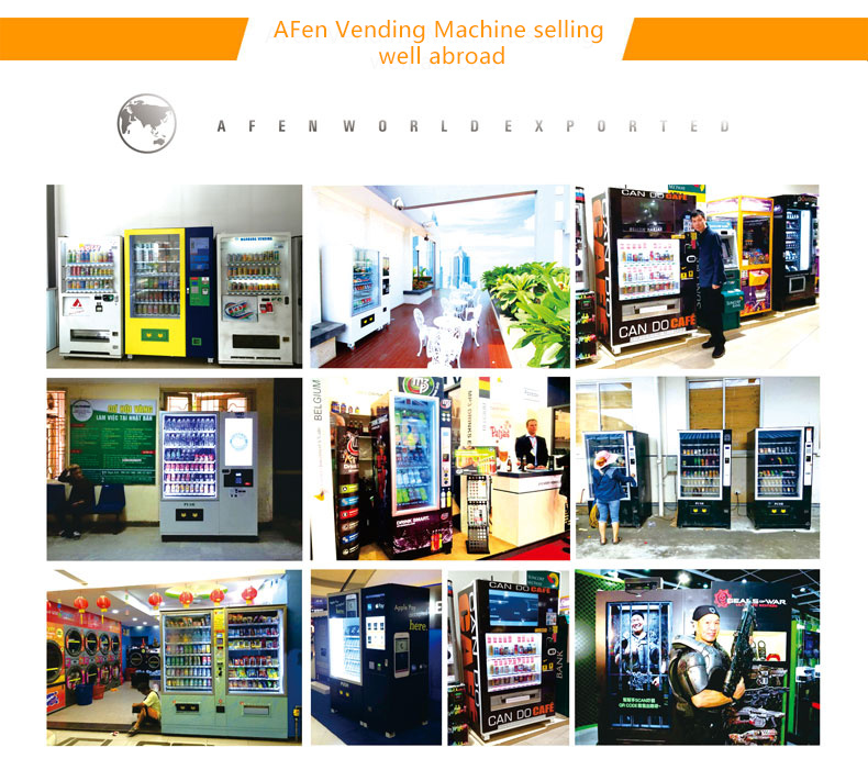 Afen Automatic Drink Beverage Vending Machine Manufacturer