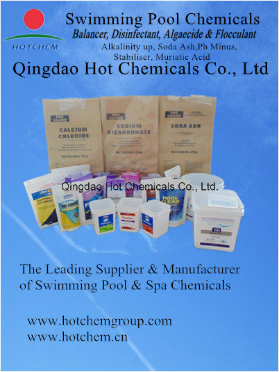 Qingdao hot chemicals - Swimming pool water treatment chemicals ...