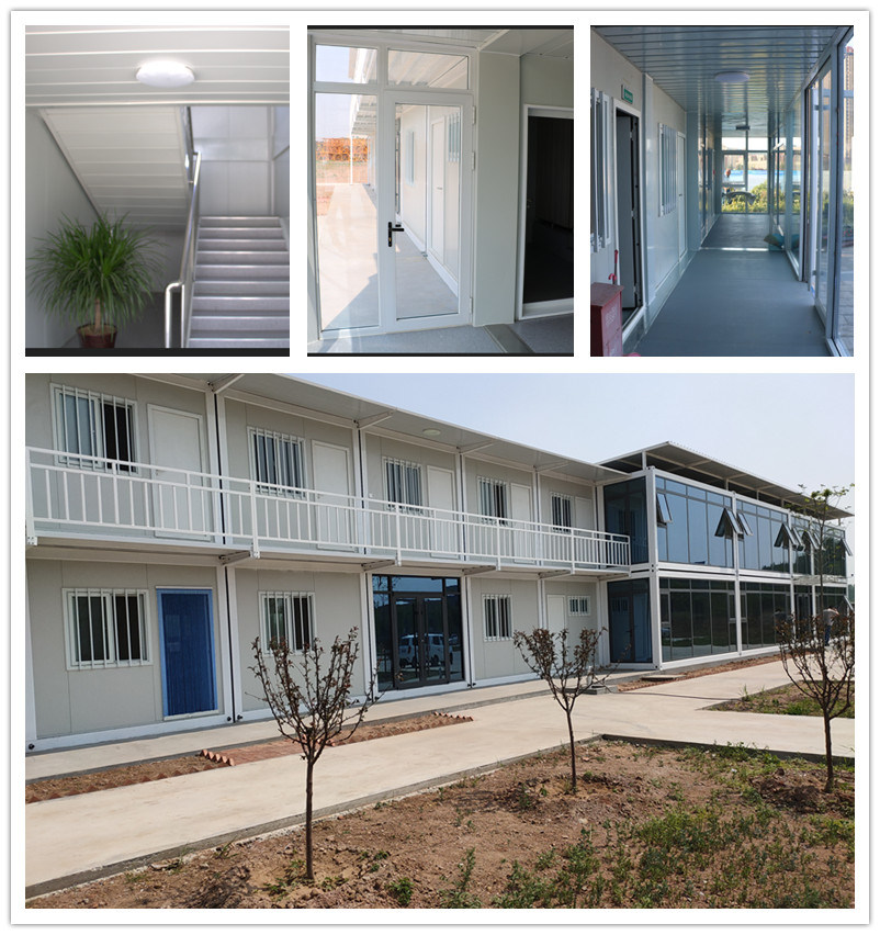 Two Storey Three Bedroom Maison Container House With Ce Iso China Maison Container House Container House Made In China Com