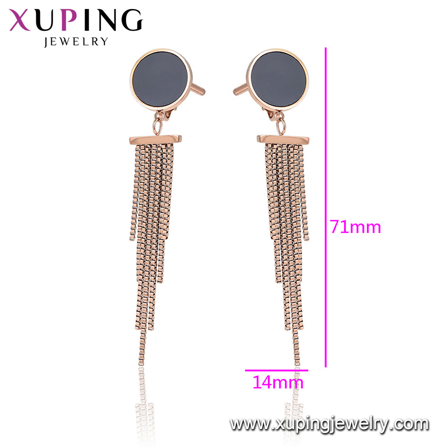 ee383d0c0 Fashion Stainless Gold Color Earring Jewelry - China Jewelry ...
