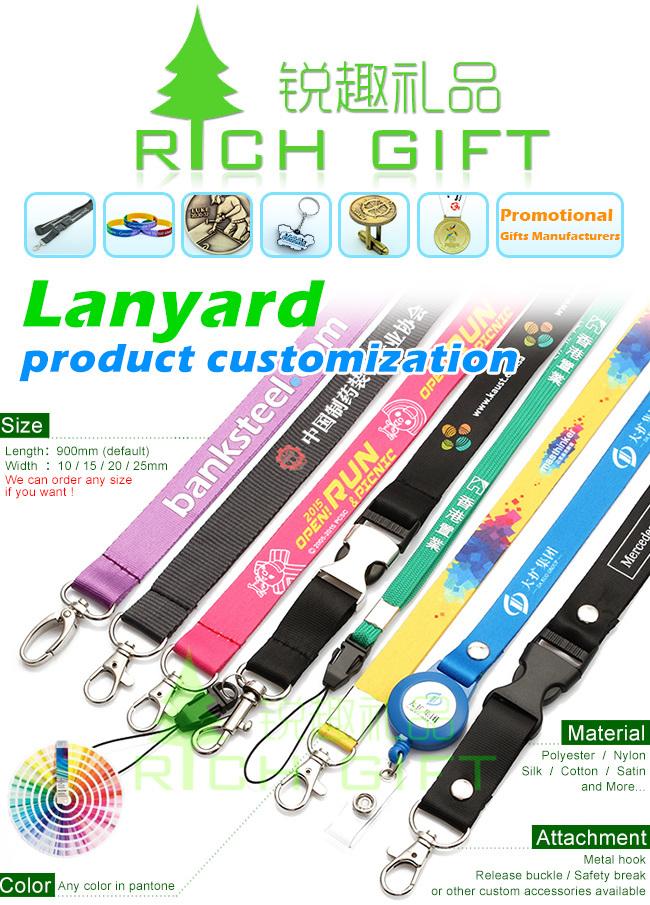 Promotional Gift Printed Neck Lanyard Custom&Polyester Printing Lanyards China Wholesale&Woven Polyester