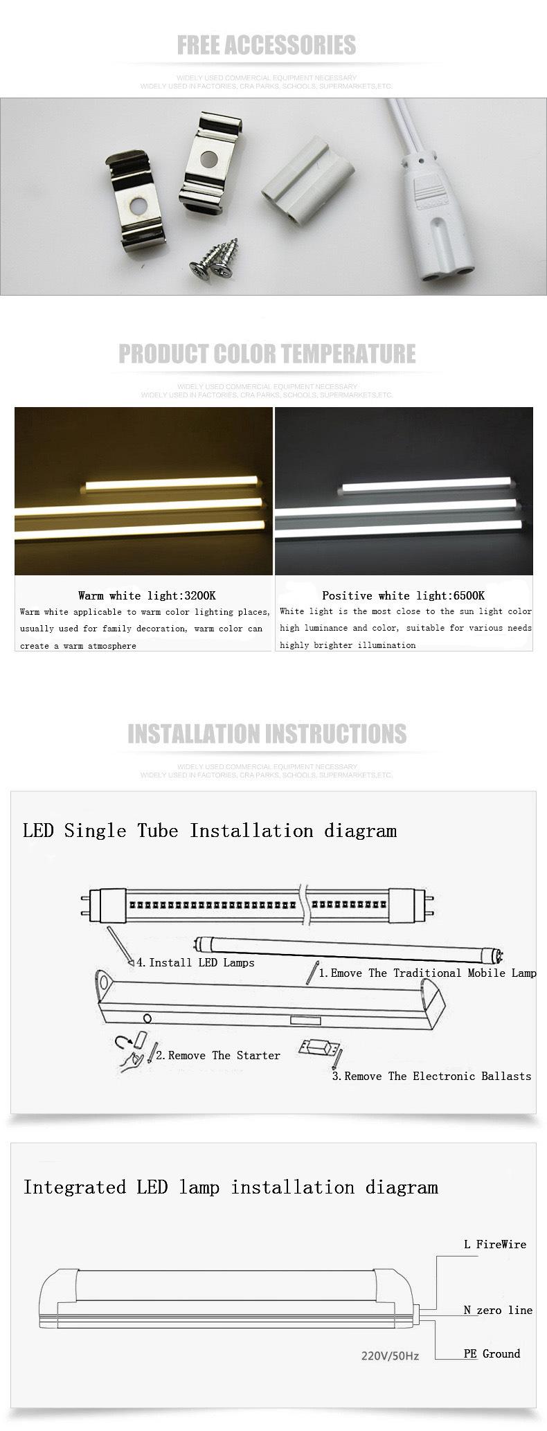 9w 15w 18w 22w 25w 600 900 1200 1500mm T5 T8 Led Tube Light For Circuit Diagram Buy Contact Us