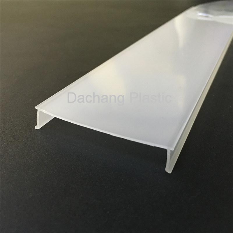 56,7mm de ancho Difusor de policarbonato para aluminio Perfil de LED ...