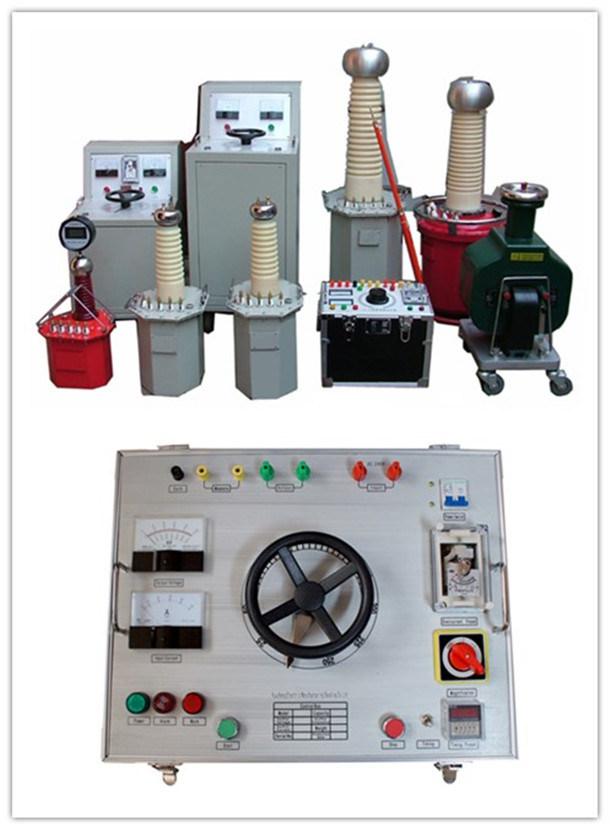 AC High Voltage Test Set Oil Immersed Testing Transformer