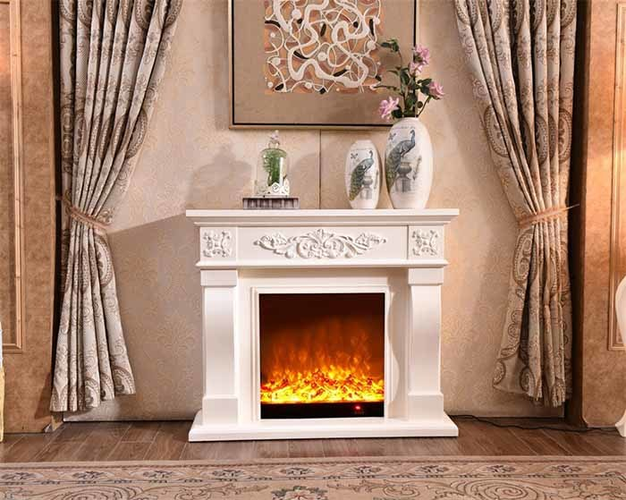 Electric Fireplace Mantel Package Wooden Surround Firebox Tv Stand Free Standing Electric Fireplace Heater With Logs Adjustable Led Flame Remote Control China Electric Fireplace Fireplace Made In China Com