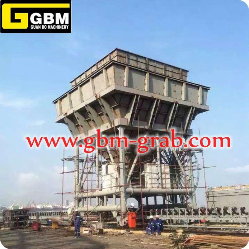 Cbm Eco-Hopper 50 Puerto de la erección en el puerto de la tolva de ...