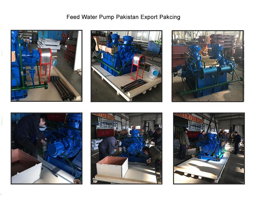 Horizontal High Pressure Steam Boiler Feed Water Pump