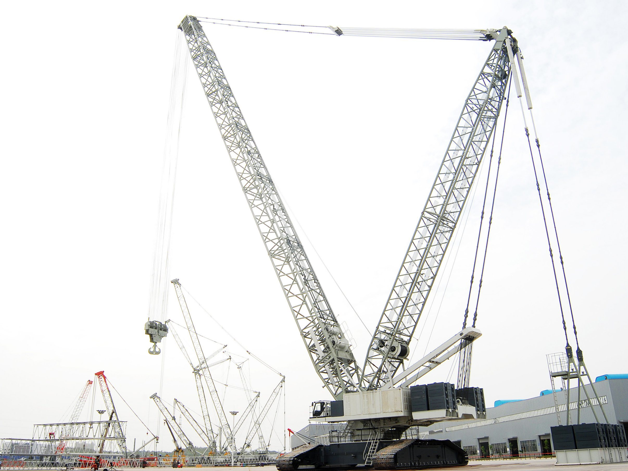 80 Ton Crawler Crane Specifications - The Best Crane Of 2018