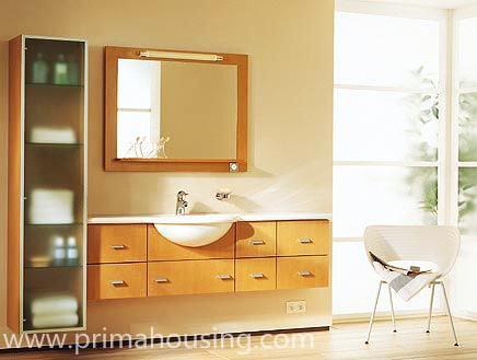 De chinese laatst moderne ijdelheid van de badkamers van de