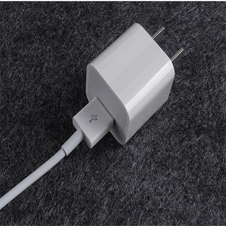Cube Wall Charger 5W for Apple iPhone USB Charger