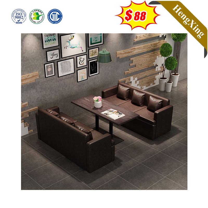 Modern Durable Wooden Restaurant Dining, Sofa Dining Room Set
