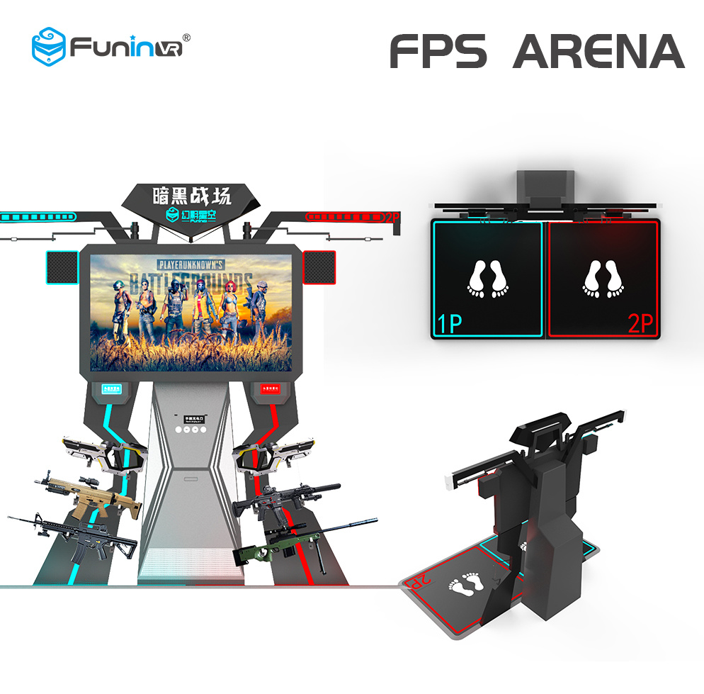 Vr Simulator Fps Arema Exciting Interactive Game Machine