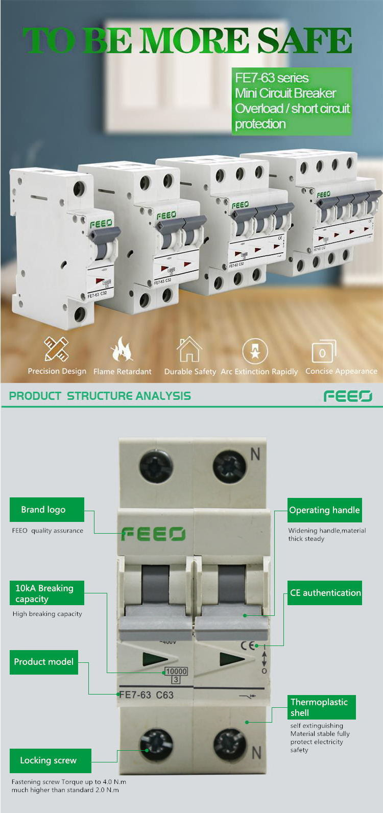 Feeo Newest 4p Ac Motorized Circuit Breaker China Arc Breakers Detailed Images Packaging Shipping Air Package