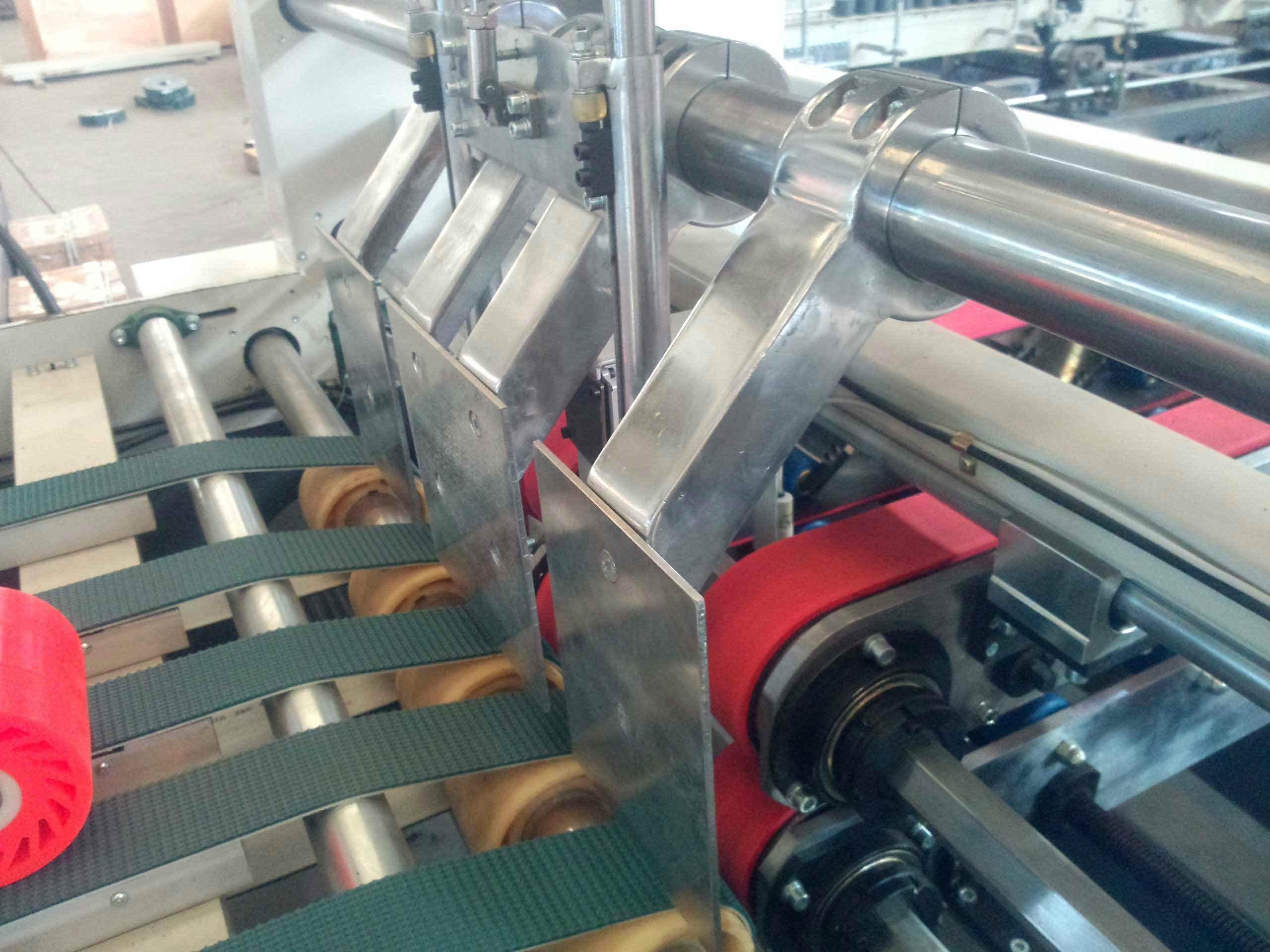 High Speed Automatic Carton Box Folder Gluer Machine