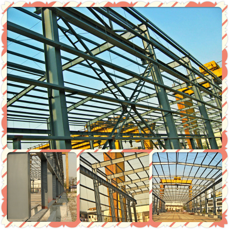 Smart Expo - Light Weight Economic Steel Structure Frame for Simple ...