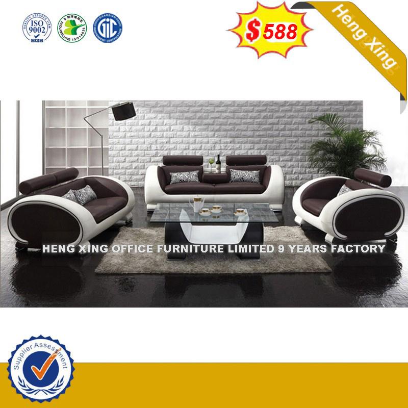 Muebles de Salón Moderno de la recepción del hotel sofá de cuero (HX ...