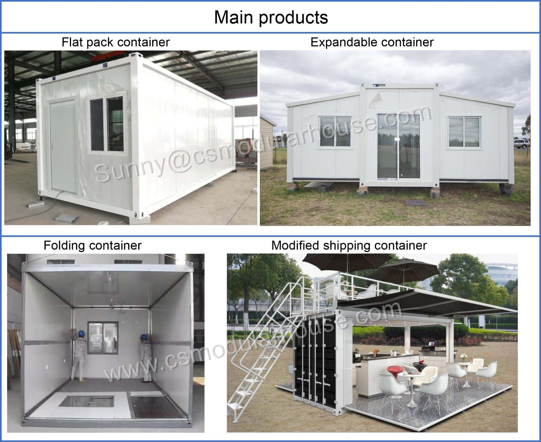 China Eco Friendly Flat Pack Modular Homes/Container Homes/Prefab ...
