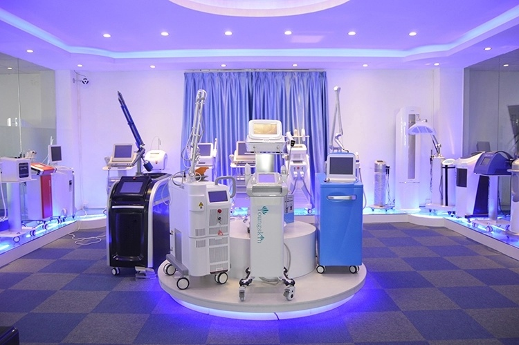 3 Wavelength 808nm and 1064nm 755nm Hair Removal Dark Skin Laser Epilation Machine