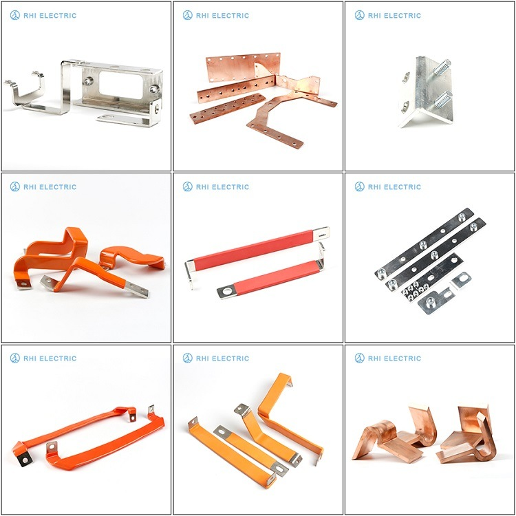 Electrical Automotive Flexible Copper Bus Bar for Power Battery Pack