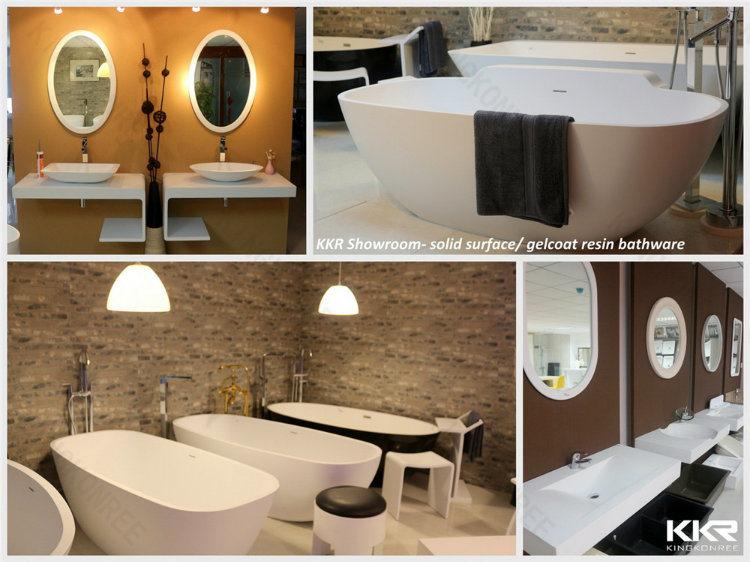 Black Stone Sanitary Ware Solid Surface Bathtub - China Bath Tub ...