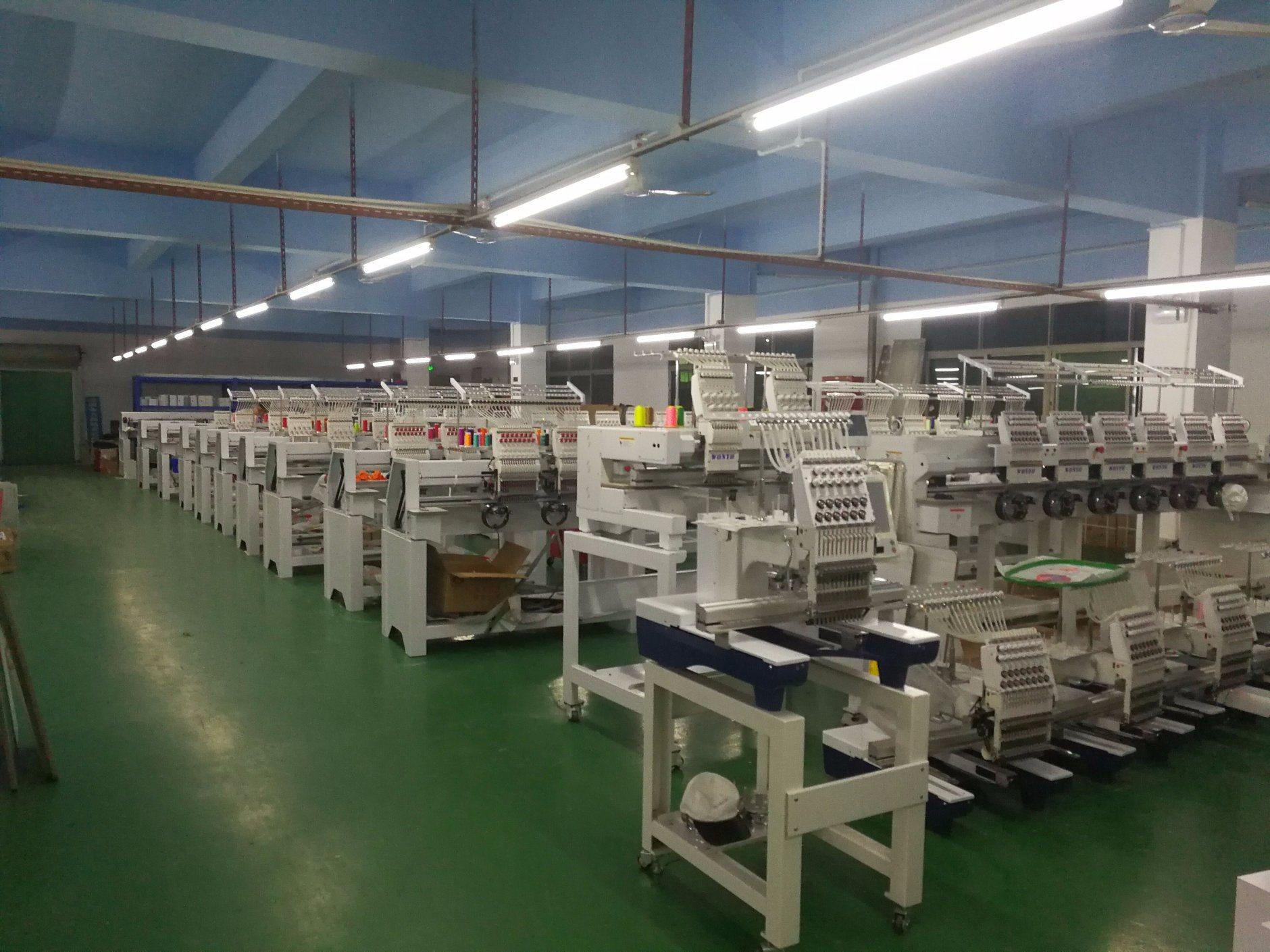 Wonyo 2 Head High Speed Tajima Embroidery Machine Price (WY-1502CH)