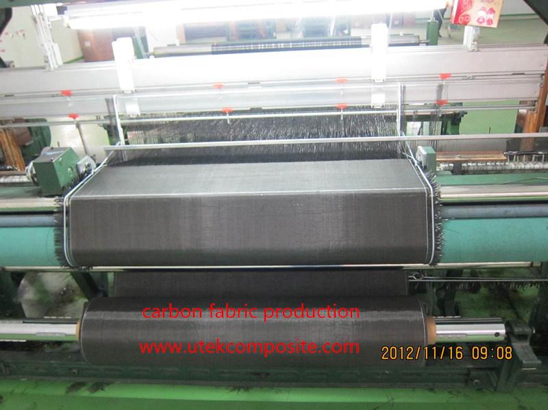 280GSM 1m Width 100m Length Twill Carbon Fabric