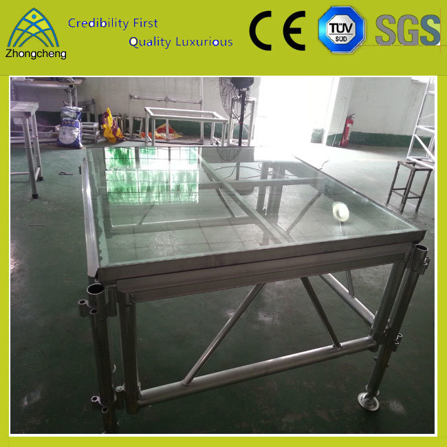 1.22m*1.22m Aluminium Alloy Plywood Portable Mobile Event and Entertainment Stage