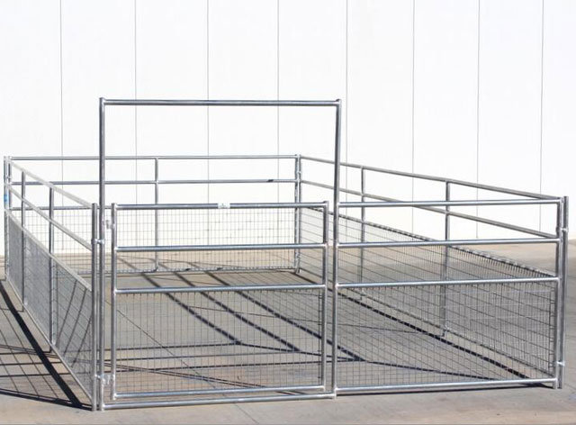 Cheap Galvanized Welded Wire Livestock Horse Corral Fence Panels