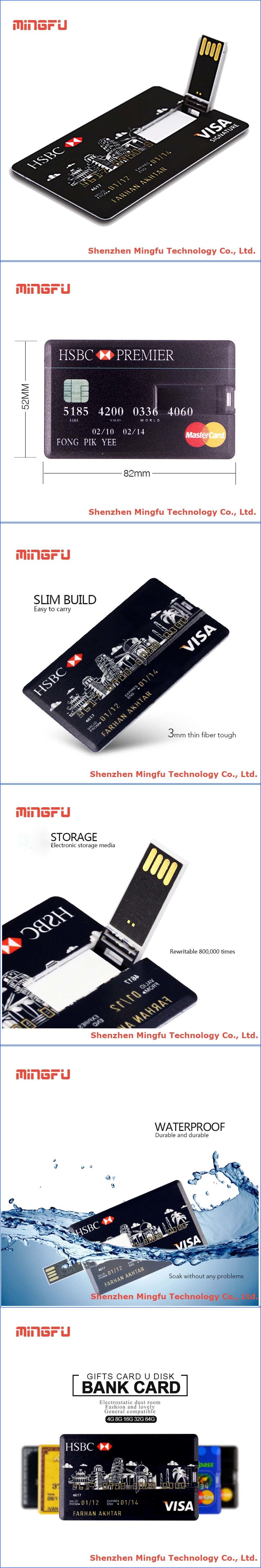 Smart Expo - Business Credit Card USB Flash Drive Pendrive Memory ...