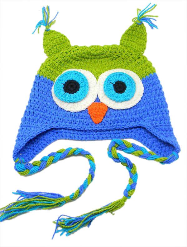 Crochet patrones gratis Buho Hat – Crochet patrones gratis Buho Hat ...