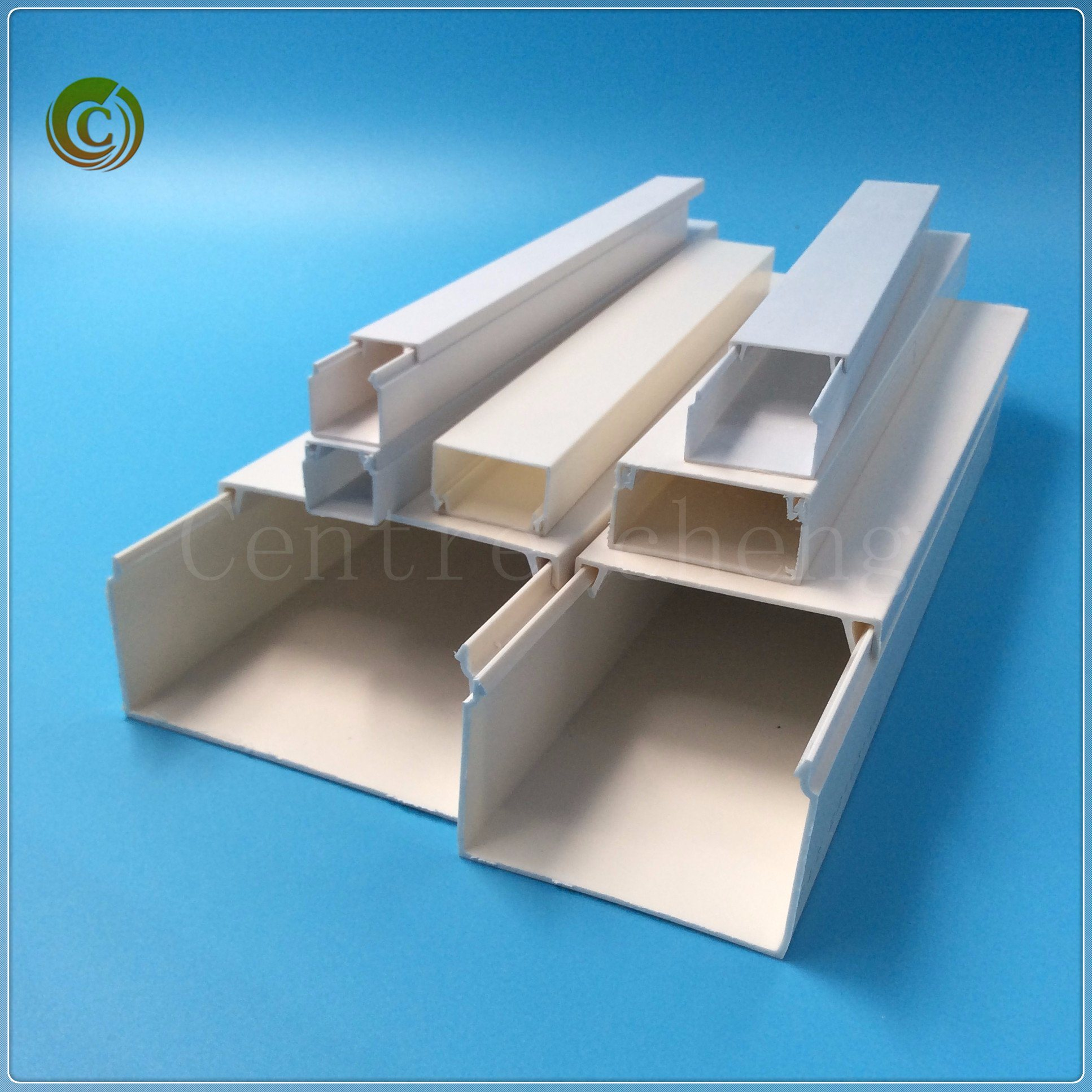 2018 PVC Trunking PVC Trunking Electrical Trunking Wiring Duct Cable ...