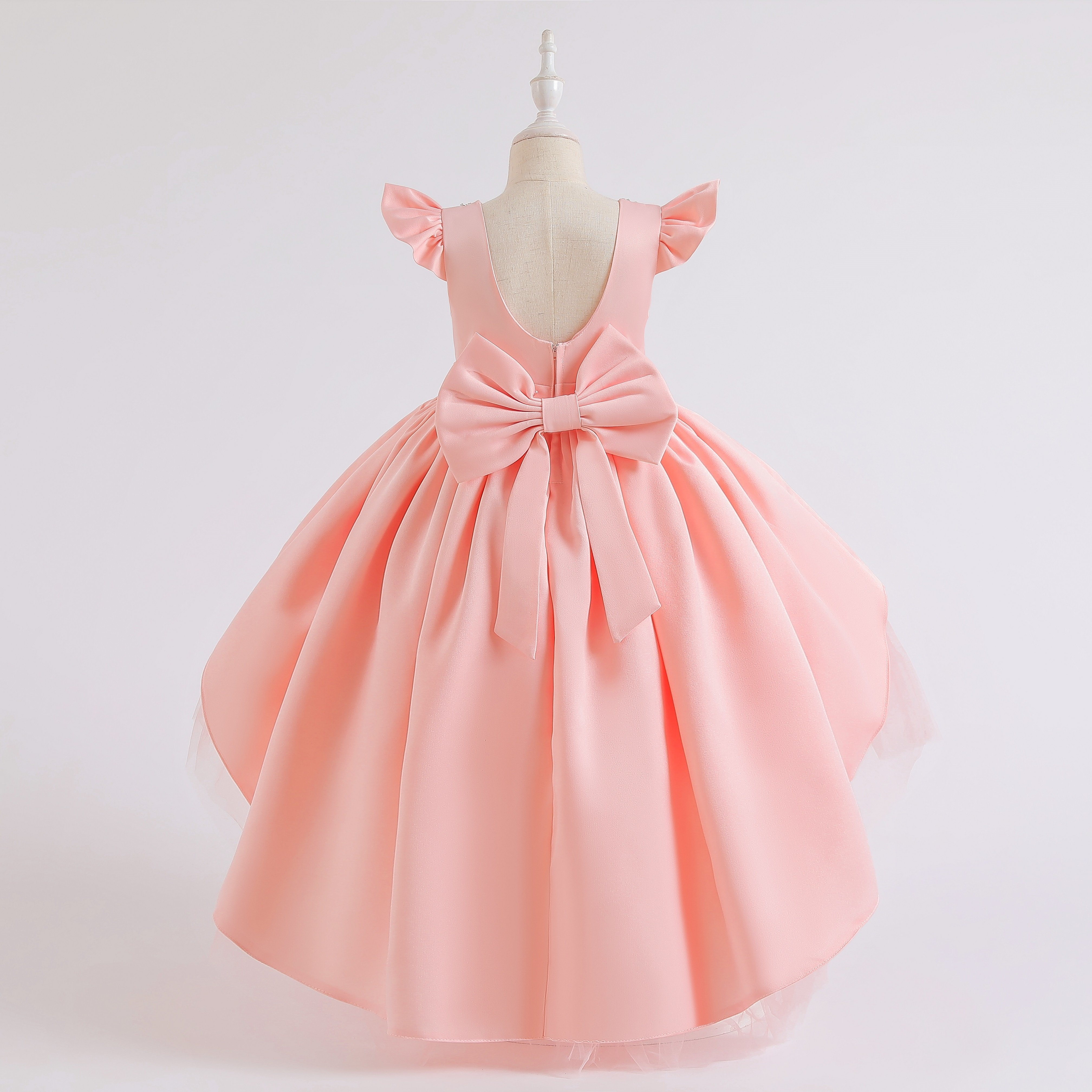 The New 2021 Dovetail Dresses Of The Girls Delicate Baby Girl Clothes The Nice Party Dress Children Flower Gownfashion Kids Infants Designer Clothing Garment China Children Dress And Children Cake Skirt