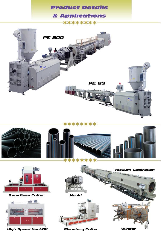 PE PP Wire Laying Plastic Pipe/Tube Extruder Making Machine - China ...