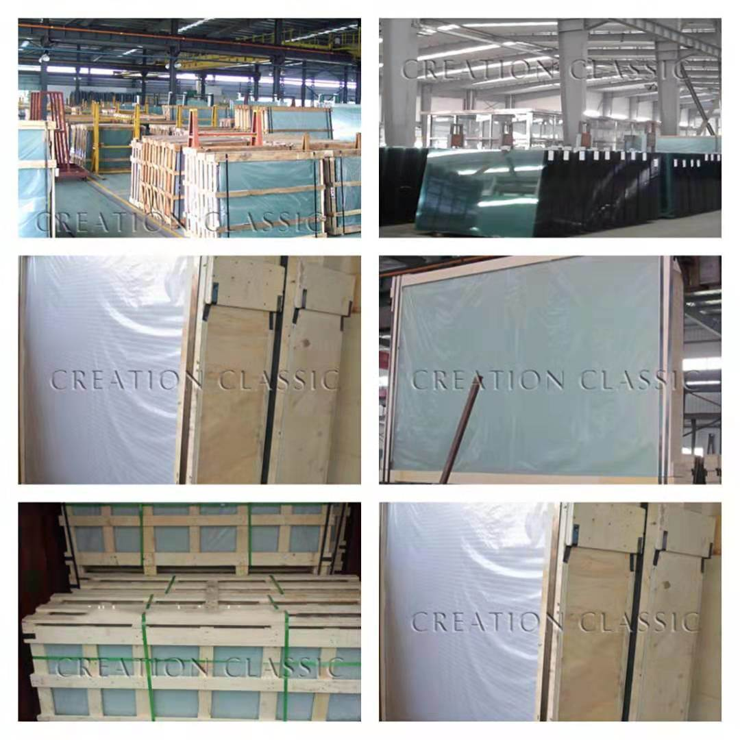 French Green /Light Green / Green Float Glass with Factory Price