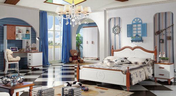 Muebles para niños cama individual con diseño de vestuario de ...
